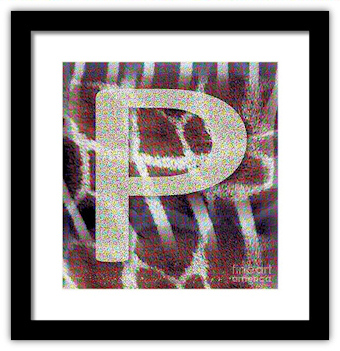 Monogram P by Patricia Griffin