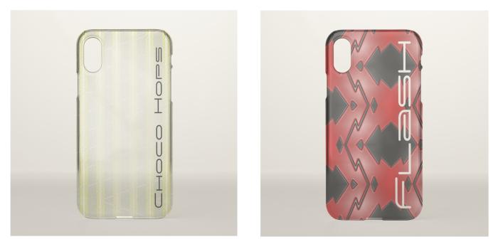 Custom Clear Phone Cases - D